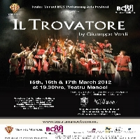 Giuseppe Verdis IL TROVATORE at Teatru Manoel